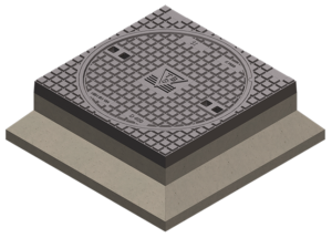 Putafdekkingen beton/gietijzer